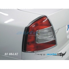 Rámček zadných svetiel - chrom Škoda Octavia II