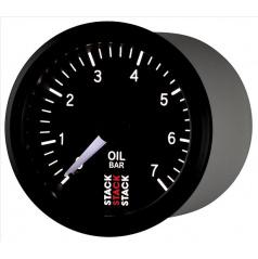 Stack mechanický budík tlak oleja 52 mm ST3101