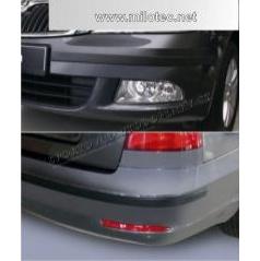 Škoda Octavia II. Facelift Lim., Combi - Ochranné lišty predného a zadného nárazníka