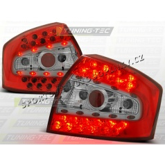 AUDI A4 (B6) SEDAN 2000-04 zadné LED lampy RED WHITE (LDAU33)