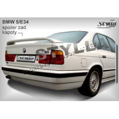BMW 5, E34 Sedan 88-95 zadné krídlo (EÚ homologácia)