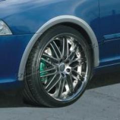 Lemy blatníkov, ABS strieborné matné, Škoda Octavia RS
