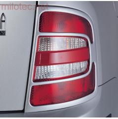 Kryty zadných svetiel Milotec (masky) -ABS čierny, Škoda Fabia I Combi, Sedan