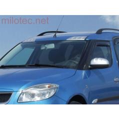 Air paket Milotec, ABS-strieborný matný, Škoda Roomster