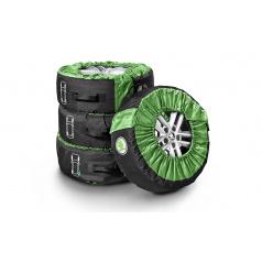 Sada obalov pre pneumatiky originál Škoda
