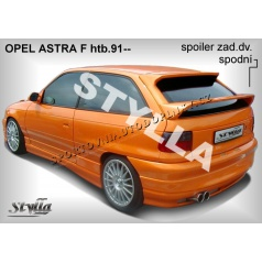 OPEL ASTRA F HTB  (91-98) spoiler zad. dveří spodní OPA5L