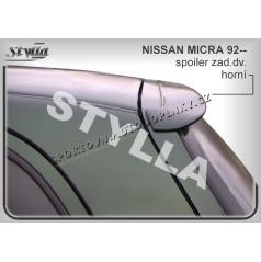 NISSAN MICRA K11 1992+ spoiler zad. dveří horní