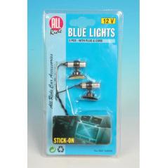 Interiérové svetlo modré 12V