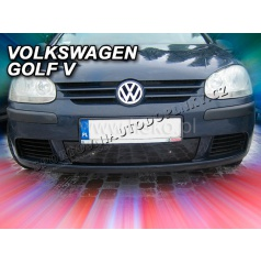 VW Golf V, 2004-2008, mimo Combi - zimní clona - kryt chladiče
