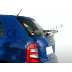Škoda Fabia zadné krídlo - s otvormi v nôžkach