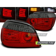 BMW E60 07.2003-07 zadné lampy red smoke LED (LDBM95)