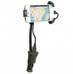 Ohybný držiak mobilného zariadenia vrátane nabíjania