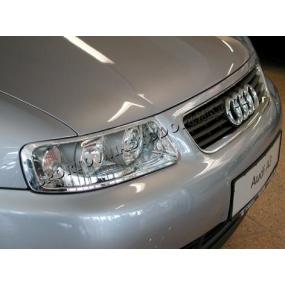 Audi A3 chróm rámček predných svetiel 2 ks