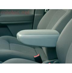 Lakťová opierka Milotec - šedý semiš, Škoda Octavia II + Facelift