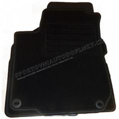 Textilné velúrové koberčeky Premium šité na mieru - Dacia Lodgy 7 sedadl., 2012 +