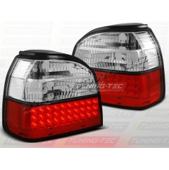 VW Golf III 1991-97 zadné LED lampy red white (LDVW35)