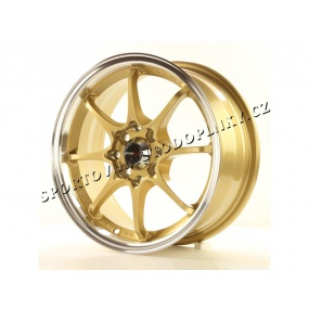 Alu kolo Japan Racing JR5 15x6,5 ET35 4x100/114 Gold