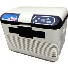 Chladiaci box s funkciou ohrevu biely 15 litrov 12V / 220V