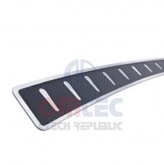 Nerez/carbon ochranný panel zadního nárazníku Mitsubishi ASX - Omtec