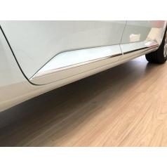 Bočné lišty, nerez - Škoda Superb III Limousine, Combi od r.v. 2015