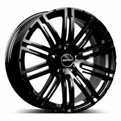 Alu koleso GMP TARGA black 11,5x22 5x130 ET52