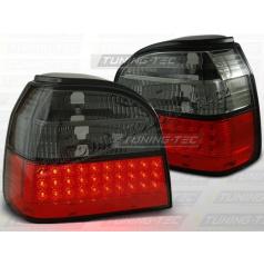 VW Golf III 1991-97 zadné LED lampy red smoke (LDVW36)