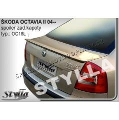 Škoda Octavia II htb 04+ spoiler zadnej kapoty (EÚ homologácia)