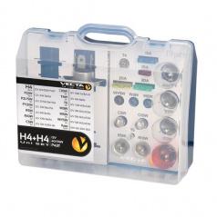 Box žiaroviek MEGA UNI 12V H4 + H4