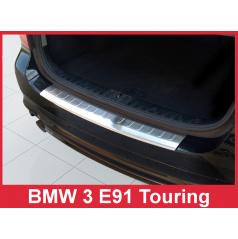 Nerez kryt- ochrana prahu zadného nárazníka BMW 3 E91