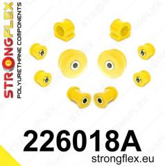 Škoda Octavia I Strongflex Šport zostava silentblokov len pre prednú nápravu 10 ks