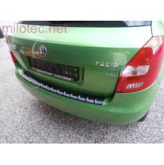 Prah piatych dverí s výstupky, ABS-čierna metalíza Škoda Fabia II Limousine