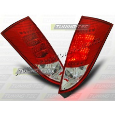 Ford Focus MK1 1998-04 zadné LED lampy red white (LDFO04)