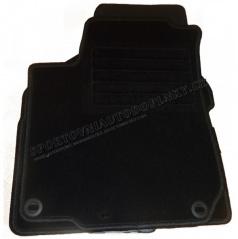 Textilní velurové autokoberce šité na míru - VW T4, 1991 - 2003, 2 díly