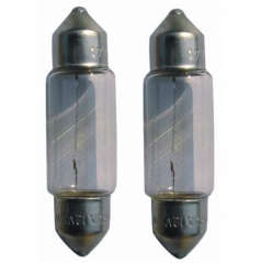 Žiarovky 12V10W 11x38SV8,5 (38 mm)
