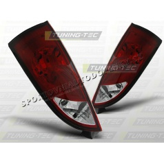 Ford Focus MK1 1998-04 zadné lampy red white (LTFO12)