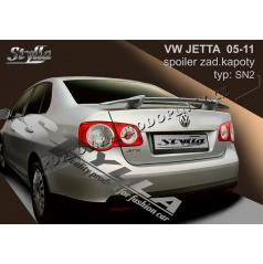 Volkswagen Jetta 02-11 spoiler zadnej kapoty (EÚ homologácia)