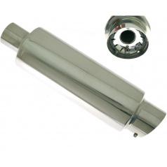 Športový výfuk TurboWorks dlhá guľatá koncovka (60 mm vstup)