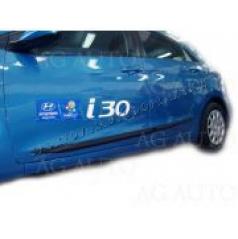 Hyundai i30, 2012- , 5 dveř., hatchback+combi - boční lišty dveří