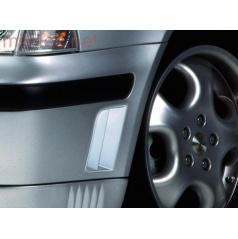 Bočné výduchy predného nárazníka, ABS-čierny, Škoda Octavia