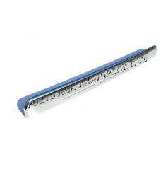 Mercedes Benz Vito/Viano W639 04-  - nerez chrom lišta nad SPZ s logem - OMSA LINE
