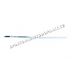 BMW E34 5.rad- nerez chróm spodná lišta zadného kufra - Omsa Line