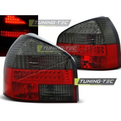 AUDI A3 08.1996-08.2000 zadné LED lampy RED SMOKE (LDAU86)