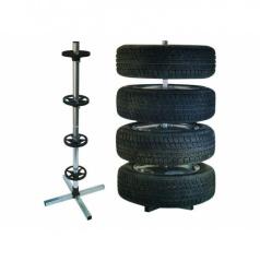 Stojan na uskladnenie pneumatík