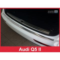 Nerez kryt- ochrana prahu zadného nárazníka Audi Q5 II 2016+