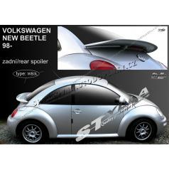 VW New Beetle 1998- zadný spoiler (EÚ homologácia)