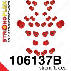 Mazda MX5 1999-05 StrongFlex kompletní sestava silentbloků 28 ks