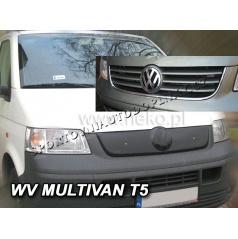 Zimná clona - kryt chladiča VW T5 (Multivan) 2002 - 2010 (3 rebrá masky)