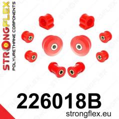 Škoda Octavia I Strongflex zostava silentblokov len pre prednú nápravu 10 ks